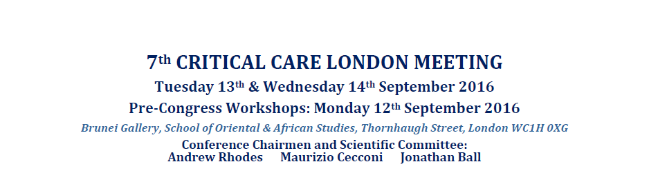 7th critical care meeting